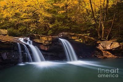 Deckers Creek D80001516 Print by Kevin Funk
