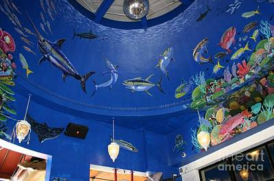 Swordfish Photograph - Decks Mural 2 by Carey Chen