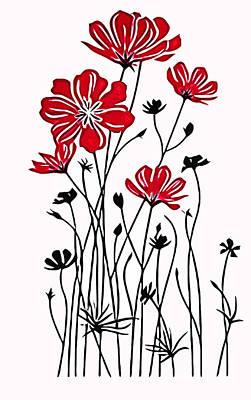 Decoracion De Flores Print by Riccardo Zullian