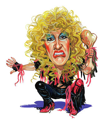 Sisters Painting - Dee Snider by Art