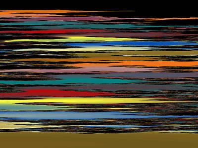 Tessellation Digital Art - Deep Color Field 2 by Mark Greenberg