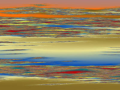 Tessellation Digital Art - Deep Color Field 4 by Mark Greenberg