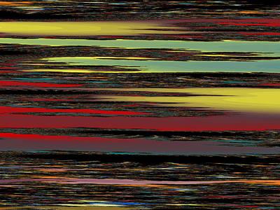Tessellation Digital Art - Deep Color Field by Mark Greenberg