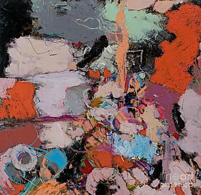 Deep Impulses Print by Allan P Friedlander