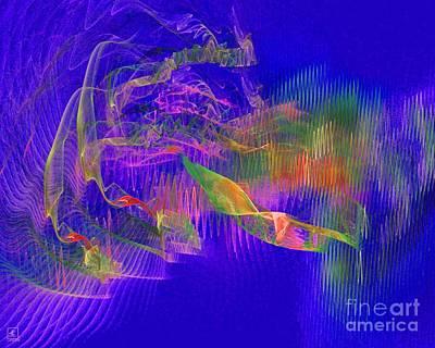 Liander Art Digital Art - Deep Life 1 by Jeanne Liander