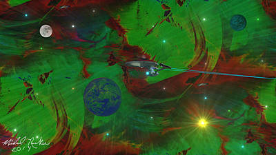 Deep Space / Star Trek Original by Michael Rucker