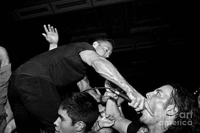 Dillinger Escape Plan Photograph - Deep Throat by Chiara Corsaro