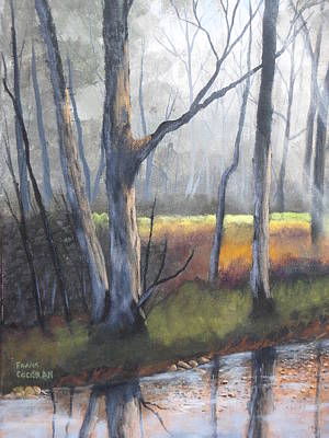 Water Filter Painting - Deep Woods by Frank Cochran