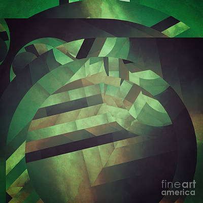 Deeper Deformations Print by Lonnie Christopher