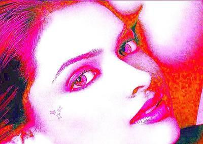 Deepika Padukone Print by Ricky Nathaniel