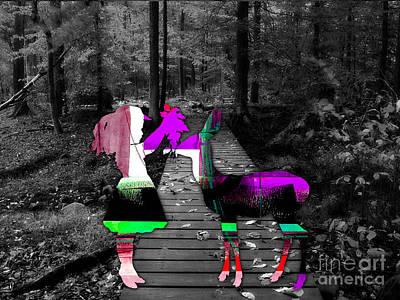 Deer Mixed Media - Deer by Marvin Blaine