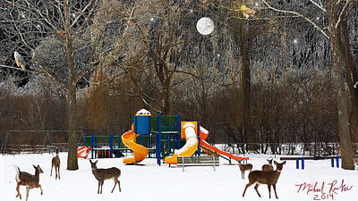 Deer Park Original by Michael Rucker