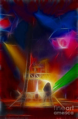 Def Leppard Digital Art - Def Leppard-adrenalize-gf10-fractal by Gary Gingrich Galleries