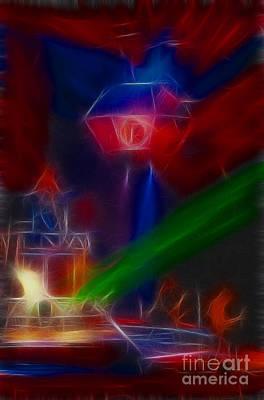 Def Leppard Digital Art - Def Leppard-adrenalize-gf12-fractal by Gary Gingrich Galleries