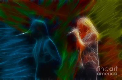 Def Leppard Digital Art - Def Leppard-adrenalize-jor-gb20--fractal by Gary Gingrich Galleries