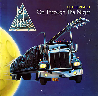 Def Leppard Photograph - Def Leppard - On Through The Night 1980 by Epic Rights