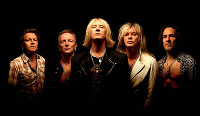 Def Leppard Photograph - Def Leppard - Sparkle Lounge Tour 2008 by Epic Rights