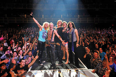 Def Leppard - Viva! Hysteria At The Hard Rock 2013 Print by Epic Rights