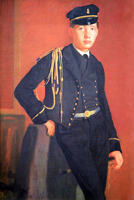 Of Edgar Degas Photograph - Degas' Achille De Gas In The Uniform Of A Cadet by Cora Wandel