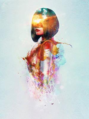 Explosion Digital Art - Deja Vu by Mario Sanchez Nevado