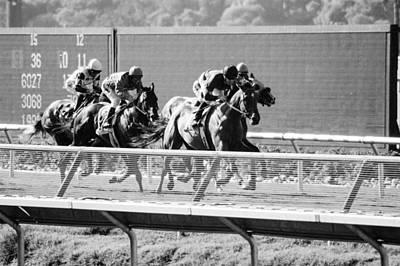 Whalen Photograph - Del Mar Racetrack One by Josh Whalen
