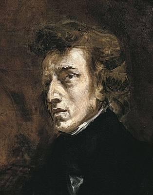 Delacroix, Eug�ne 1798-1863. Fr�d�ric Print by Everett