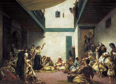 Delacroix, Eug�ne 1798-1863. Jewish Print by Everett