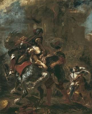 Delacroix, Eug�ne 1798-1863. The Print by Everett