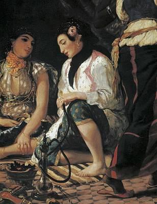 Delacroix, Eug�ne 1798-1863. The Women Print by Everett