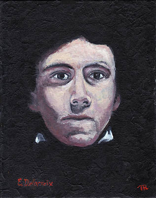 Portraits Painting - Delacroix by Tom Roderick