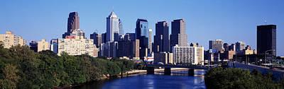 Philadelphia Pa Photograph - Delaware River, Philadelphia by Panoramic Images