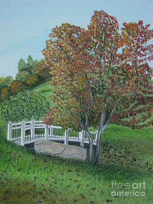 Delfosse Bridge Print by Gloria Patrick Sumter