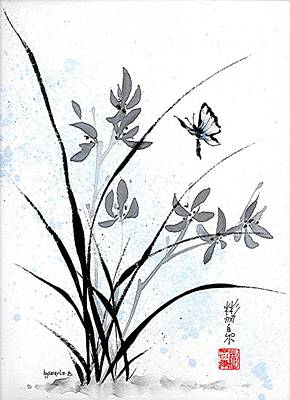 Delicate Embrace Print by Bill Searle