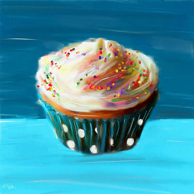 Delightful Sprinkles Print by Lourry Legarde