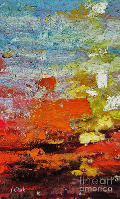 Expressionist Painting - Delirium by John Clark