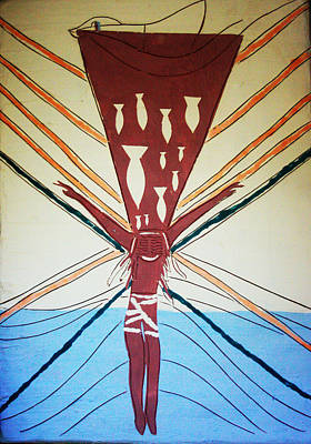 African Contemporary Ceramics Painting - Deliverance by Gloria Ssali