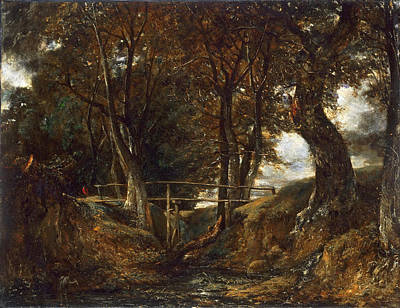 John Constable Painting - Dell At Helmingham Park by John Constable