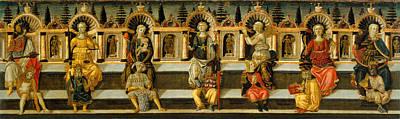 Dello Scheggia Print by Celestial Images