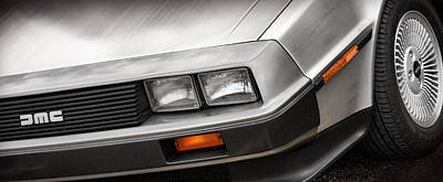 Delorean Dmc-12 Print by Gordon Dean II