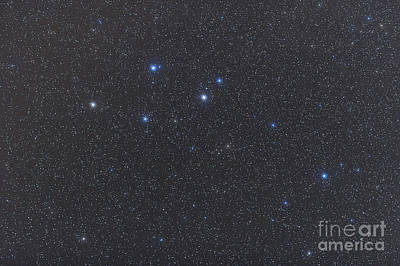 Pegasus Photograph - Delphinus Constellation On A Hazy Night by Alan Dyer