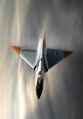 Delta Dart F-106 Print by Peter Chilelli