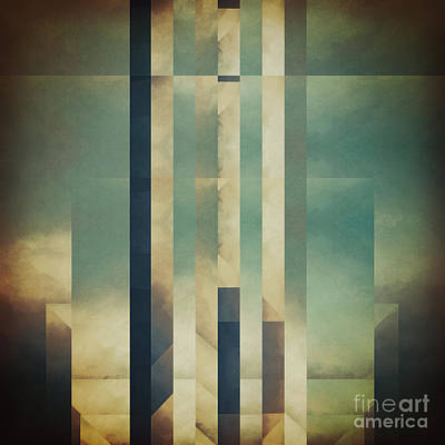 Luminous Digital Art - Demagogic Sky by Lonnie Christopher