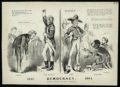 Democracy Drawing - Democracy 1832 by Celestial Images