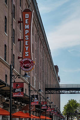 Baltimore Baseball Parks Photograph - Dempseys Brew Pub by Susan Candelario