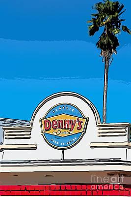Liberal Digital Art - Denny's Key West - Digital by Ian Monk