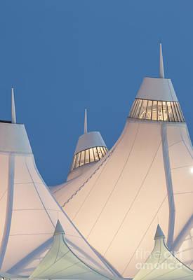 Structure Photograph - Denver International Airport by Juli Scalzi