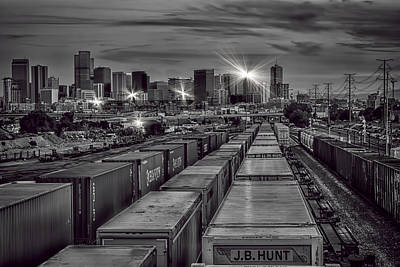Denver's Underbelly Print by Kristal Kraft