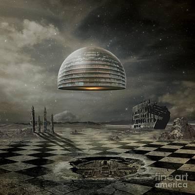 Ark Digital Art - Departure by Franziskus Pfleghart