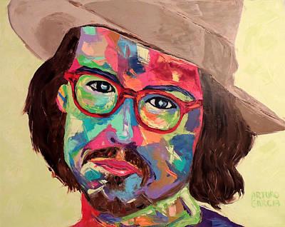 Johnny Depp Mixed Media - Depp by Arturo Garcia