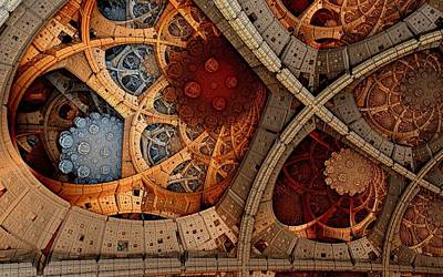 Depth And Color Print by Ricky Jarnagin
